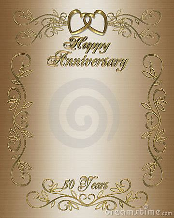 anniversary invitation border royalty  stock