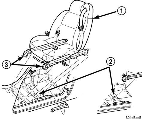 chrysler sebring power seat owner  manual