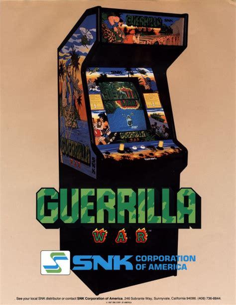 sold  snk guerrilla war arcade game pinball