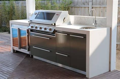 kitchen with cabinets more advanced bbq setup maybe a bit polished but 6505
