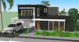 Casa Moderna 3d En Skp
