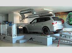 BMW X3 30sd bei wwwkubatechde auf dem Cartec 4WD