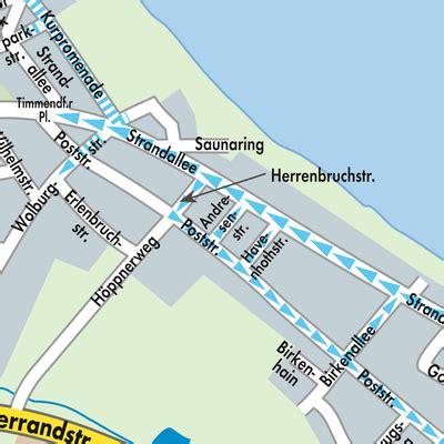 karte von timmendorfer strand stadtplandienst deutschland