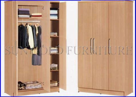 Wooden Cloth Cupboard by China Simple Modern Wooden Wardrobe With 3 Door Sz Wd056