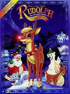 Rudolph the Red-Nosed Reindeer: The Movie, Piano/Vocal ...