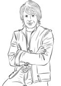 Pop Stars Celebreties Coloring Pages Free