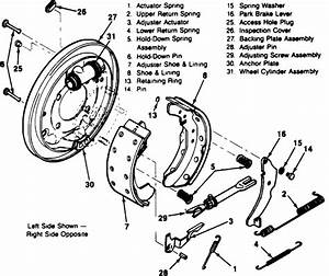 Im Looking At The Diagram For The Chevy Rear Brake Shoes