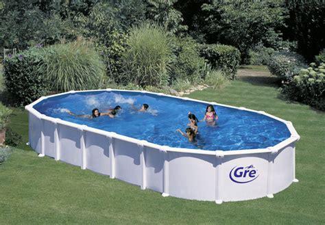 piscine hors sol rigide piscine hors sol acier m 233 tal ou bois images arts et voyages