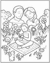 Parents Coloring Honor Pages Obeying Father Activities Craft Mother Colouring Church Dad Mom Prayer Template sketch template
