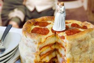 pizza wedding pizza themed weddings actually popular the dandy goat