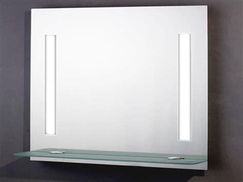 badspiegel mit ablage und beleuchtung badspiegel 90x70cm mit licht schalter und ablage ebay