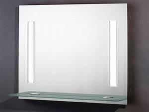 Spiegel Bad Mit Ablage : badspiegel 90x70cm mit licht schalter und ablage ebay ~ Michelbontemps.com Haus und Dekorationen