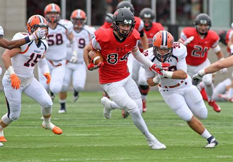 RPI football tops ranked Hobart in final minute - Times Union