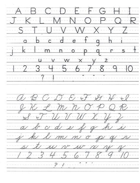 handwriting worksheets  kindergarten  nealian
