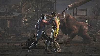 Subzero Mortal Kombat Animated Games Gifs Fatalities