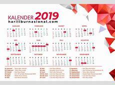 Jadwal Hari Libur Nasional 2019 dan Cuti Bersama 2019