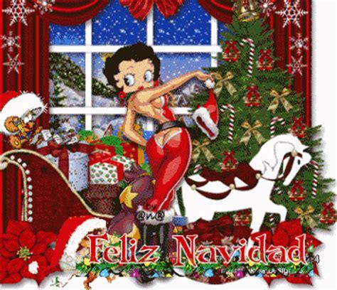gifs animados de betty boop en navidad
