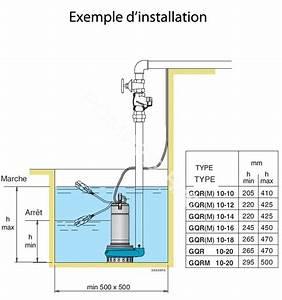 Schema Installation Pompe De Relevage Eaux Usées : pompe de relevage eaux claires ou l g rement charg es gqr ~ Carolinahurricanesstore.com Idées de Décoration