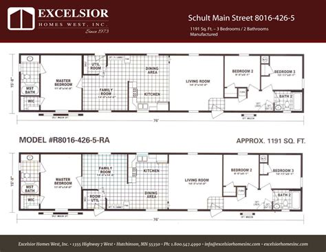 schult main street    excelsior homes west