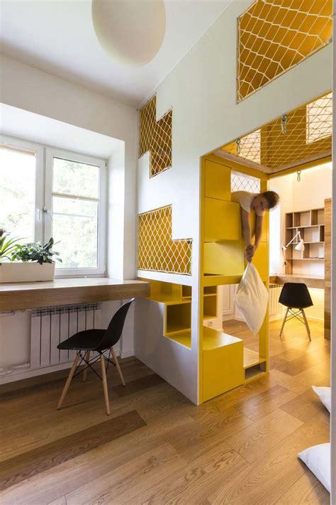 amenagement bureau design aménagement intérieur chambre enfant design original