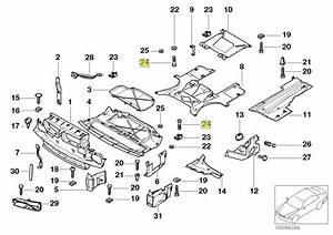 Bmw E39 E38 E52 Engine Splash Shield Screw Bolt 8218323