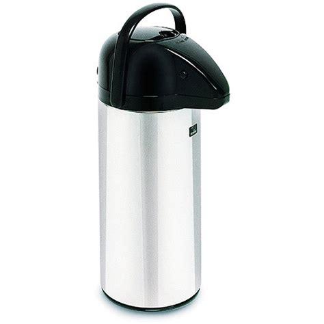 BUNN 28696 2.2 Liter Push Button Commercial Airpot Coffee/Tea Dispenser   Walmart.com