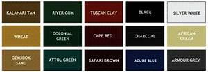 Roof Paint Colour Chart Some Brief Zincalume