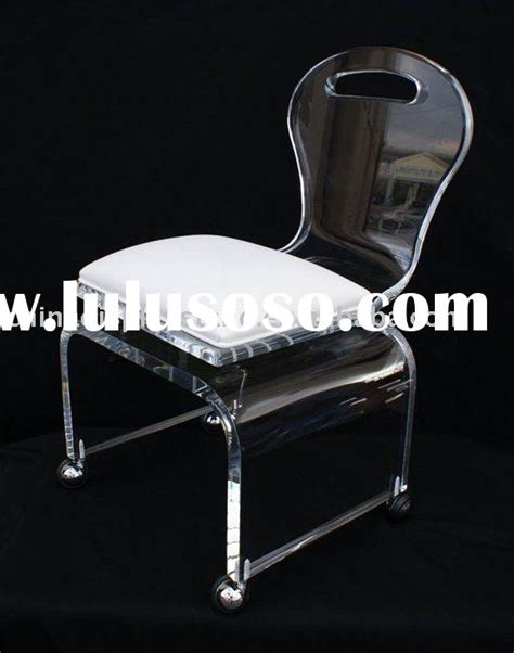 acrylic vanity chair with wheels for sale price china manufacturer supplier 850928