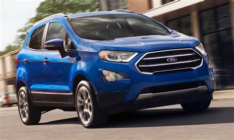 2019 Ford Ecosport by Here S What S New For The 2019 Ford Ecosport
