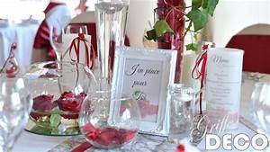 Deco Mariage Rouge Et Blanc Pas Cher : deco mariage rouge et blanc decor decoration mariage rouge blanc et or ~ Dallasstarsshop.com Idées de Décoration