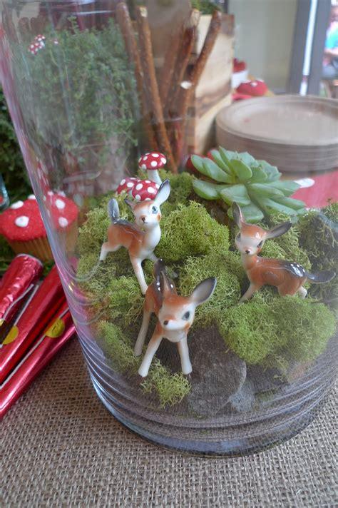 woodland themed  birthday party woodland animals