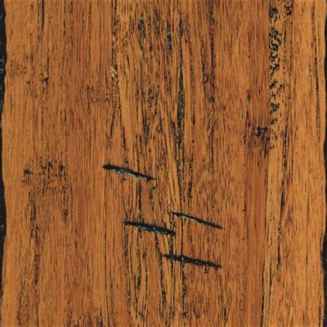 bamboo scraped flooring home legend hand scraped strand woven antiqued 1 2 in thick x5 1 8 in widex72 7 8 in length