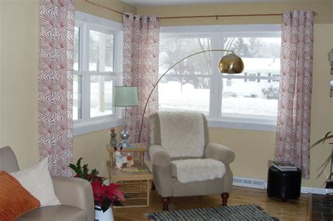 curtain rods corner corner window curtains styles of decorating ideas homesfeed