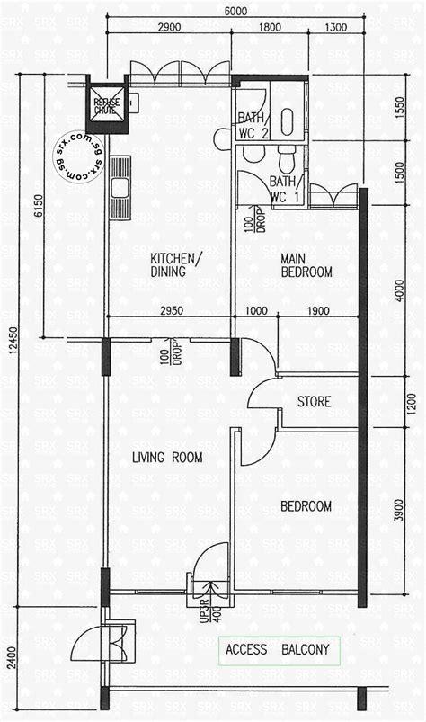 floor plans  ang mo kio avenue  hdb details srx property