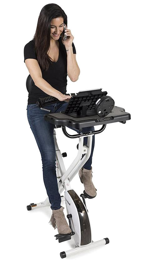 Amazon Com Fitdesk Fdx3 0 Bike Desk With Tablet Holder