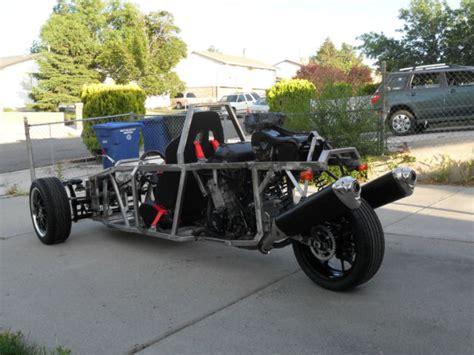 Custome Built Of Kind Reverse Trike Motorcycle Hayabusa 1300
