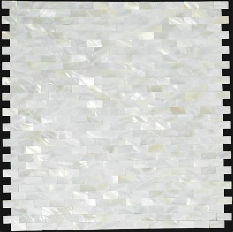 Pearl Mosaic Bathroom Tiles by Of Pearl Tile Kitchen Backsplash Mop007 Brick Sea