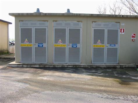 cabine di trasformazione cabina elettrica media tensione spazio