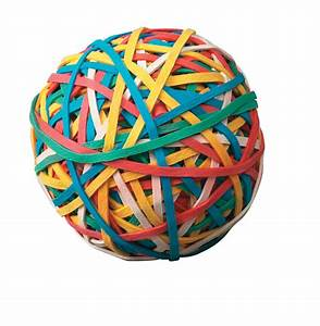 School Smart Economy Rubber Band Ball, Multiple Color - eBay Balls and Bands