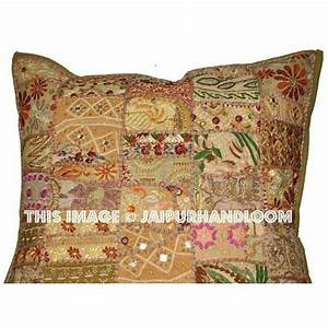 24quot beige sofa cushions buy online patchwork throw pillows With buy sofa pillows online