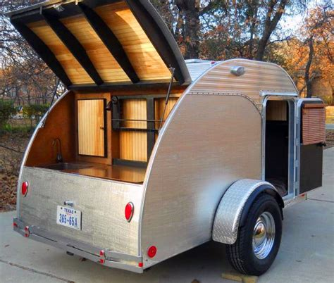 teardrop trailer small compact campers godownsizecom