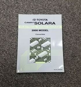 2000 Toyota Camry Solara Electrical Wiring Diagram Manual