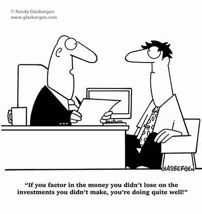 Financial Cartoons Retirement Bias Cartoon Hindsight Investment