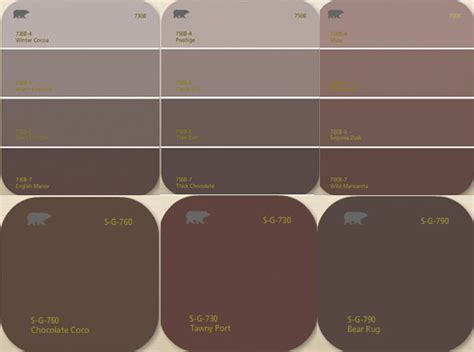 living with color behr brown shades painting brown