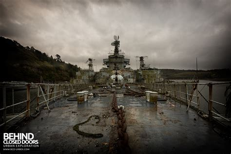 Just Deck It by The Atlantic Ghost Fleet Battle Ships France 187 Urbex
