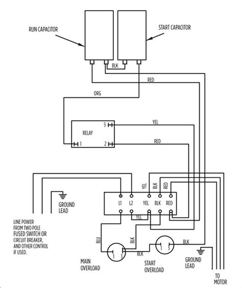 Typical Electric Motor Wiring by Aim Manual Page 54 Single Phase Motors And Controls