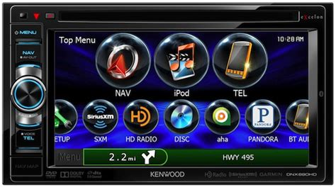 kenwood dnxhd  dnxhd  dash navigation systems