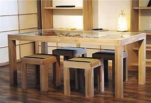 Table Bois Massif Design : les concepteurs artistiques prix salle a manger bois massif ~ Teatrodelosmanantiales.com Idées de Décoration