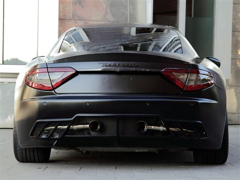 maserati modified nderson germany maserati granturismo s superior black