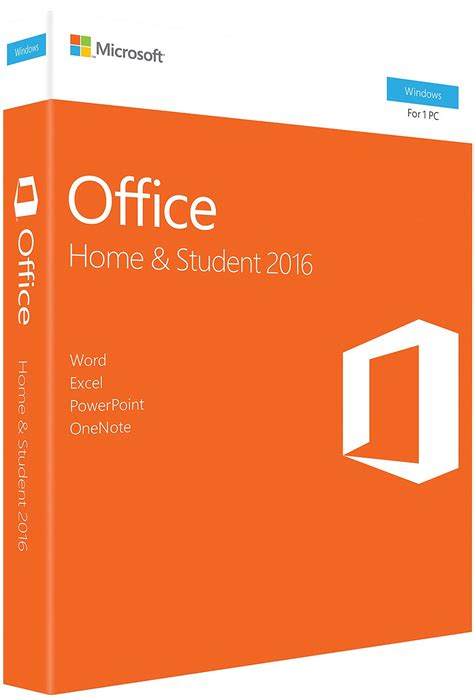microsoft office home student 2016 for pc 79g 04589